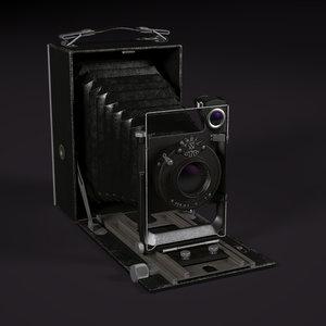 folding camera 3d c4d