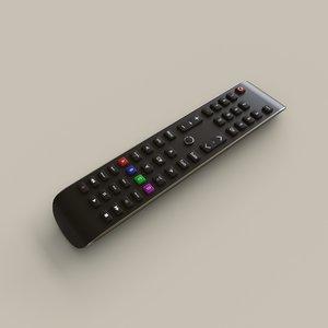 3D smart tv remote