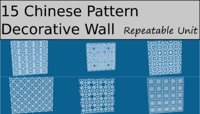 Chinese Decorative pattern Collection