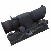 susat tactical rifle 3D