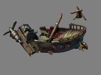 3D steam harbour - goblin