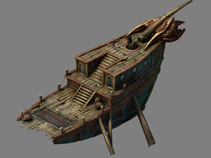 steam harbour - goblin 3D model