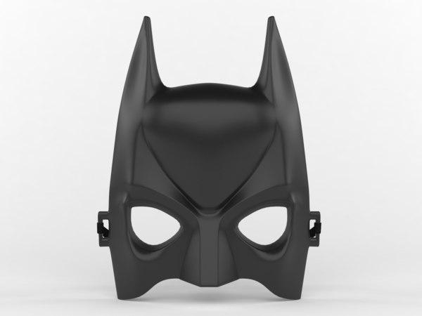 batman mask model
