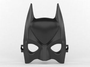 batman mask model