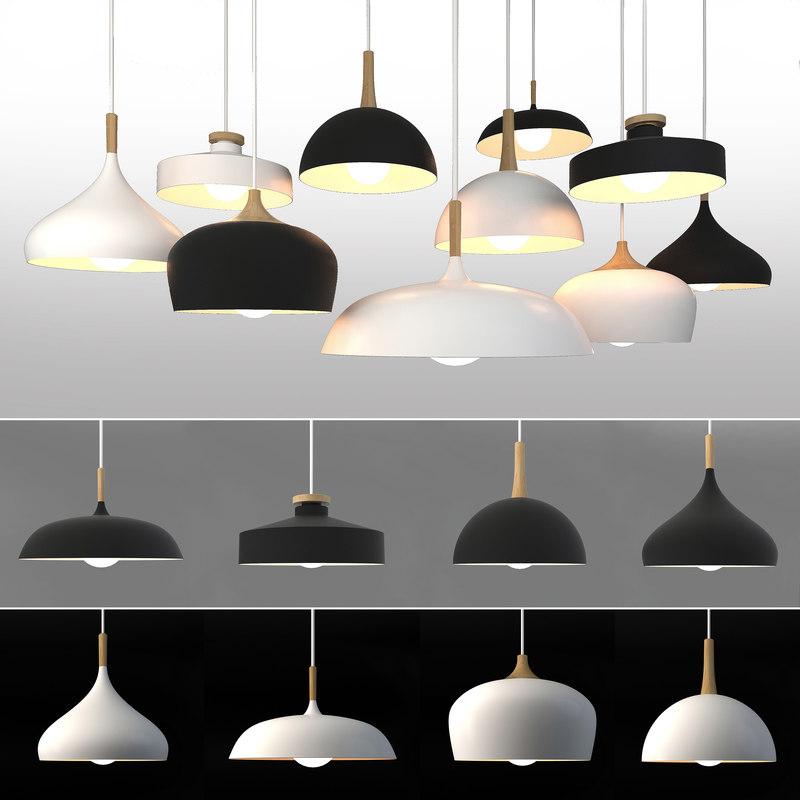 3D ceiling lamps 25