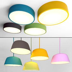ceiling lamps 26 3D