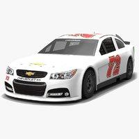 3D tristar motorsports nascar cole model