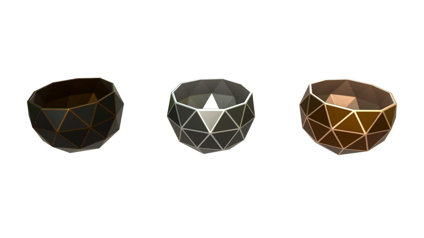 ready decorative vases 3D model
