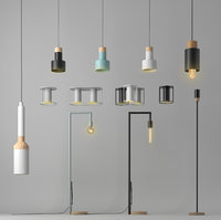 Set of 12 lamps by FILD