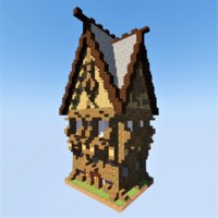 Medieval House 2 Minecraft