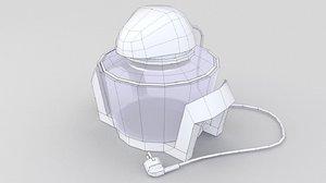 3D oven halogen model
