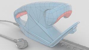3D games simulators model