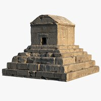 tomb cyrus great 3D