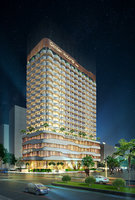 3D hotel luxury model
