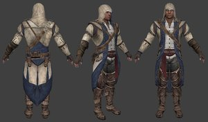 assasins creed 3 model