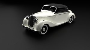 3D 1939 mercedes-benz 170 s model