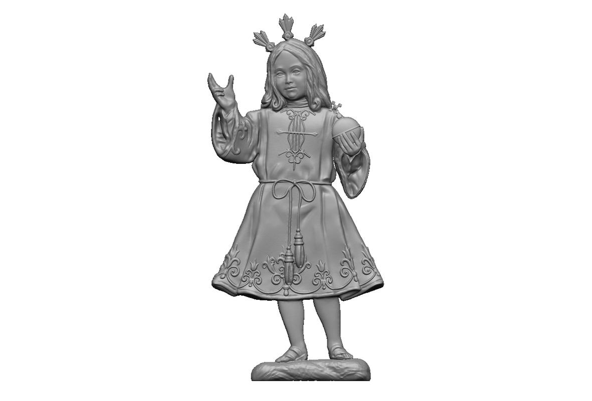 3D relief boy estepa
