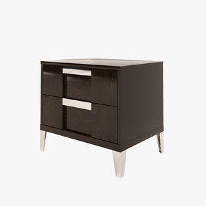 3D nightstand alf soprano model