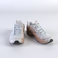 3D highpoly shoes