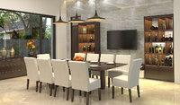 dining diningroom 3D model