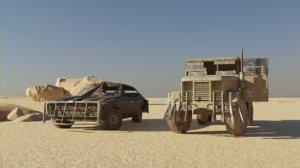 post apocalyptic truck car model