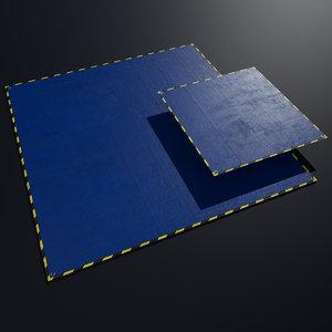Tarp Blue PBR