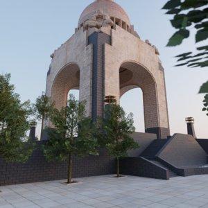 monumento la revolucin 3D