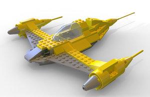 lego star wars 1999 3D