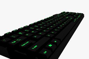 3D keyboard computer