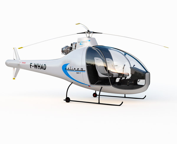 3D model helicopter had1-t helineo