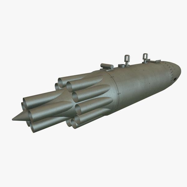 3D rocket launcher ub-16-57kv