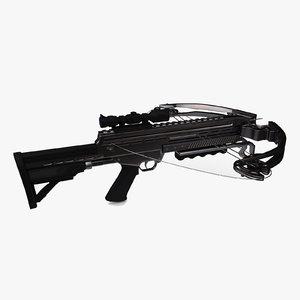 modern crossbow 3D model