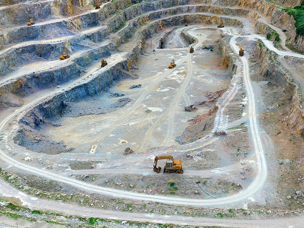 opencast mines hd - 3D model