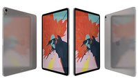 Apple iPad Pro 12.9 Wi-fi & Wi-fi+Cellular Silver