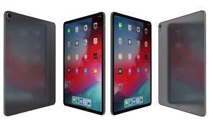 apple ipad pro 12 3D model