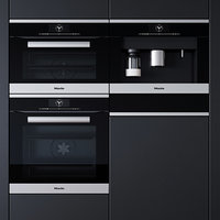 3D miele oven microwave