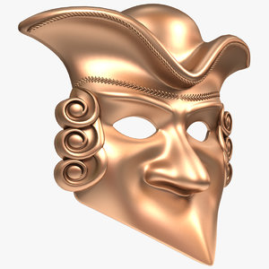 3D model mask x2