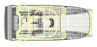 3D model luxury catamaran