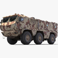 3D kamaz typhoon camo send
