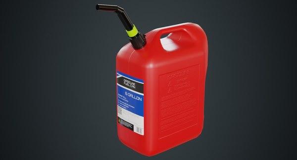 fuel 6a 3D model