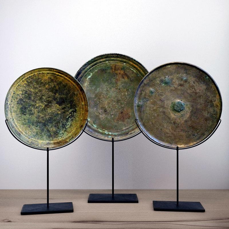 3D model balsamo - set bronze