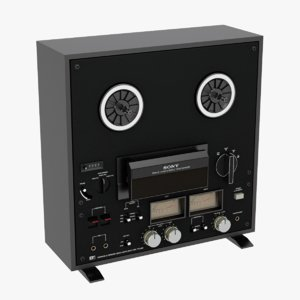 3D sony reel tape recorder