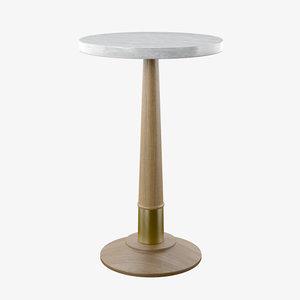 3D 8119-88 provence martini table model