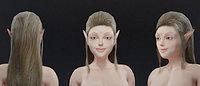 Female Elf Model