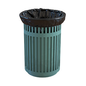 realistic trash bin 3D model