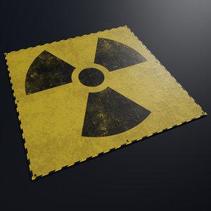 tarpaulin radiation model