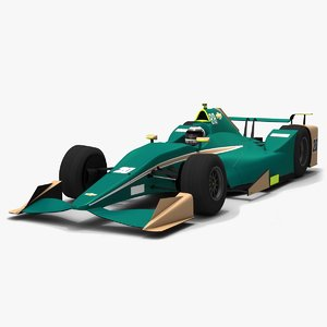 ed carpenter racing indy 3D model