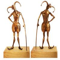 fausova - bronze statue 3D model