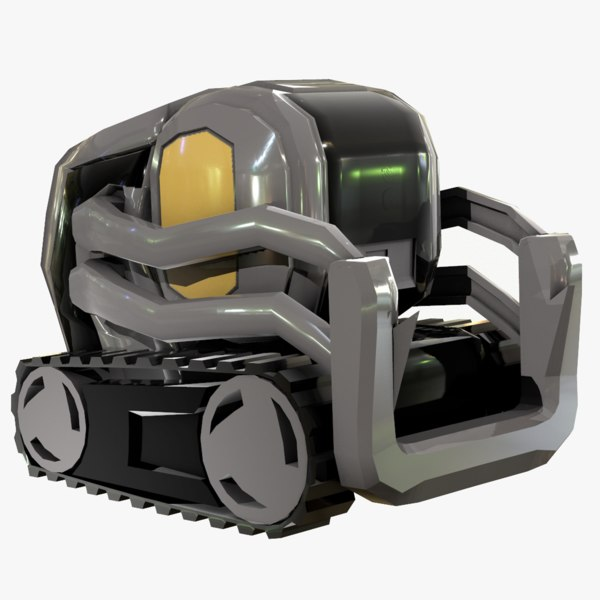 3D anki vector robot model