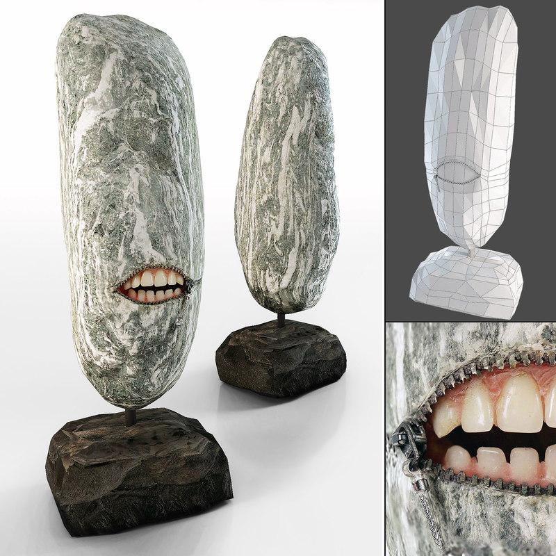 stone sculpture hirotoshi itoh model
